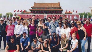 Des finissants du MBA pour cadres ont complété leur cheminement par un séjour en Chine