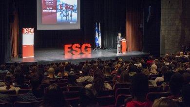 Rentrée ESG : la ministre responsable de l'Enseignement supérieur accueille les nouveaux étudiants