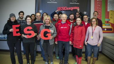 8e année de bénévolat à Moisson Montréal pour l'ESG
