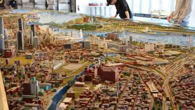 Des étudiants visitent le Port de Montréal